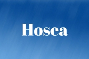 Hosea: Just Love, Jealous Love