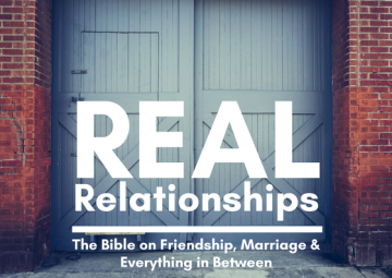 Autumn Away Day: Real Relationships - The Bible on Friendship, Marriage & Everything in Between